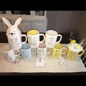 Rae Dunn Easter mugs